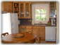 Fridge, dishwasher, microwave, toaster oven, barbque grill on veranda