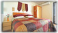 Master bedroom with extra twin bed becomes a triple