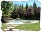 Park-like Backyard with Pool and Spa