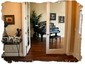 Foyer with Interior French Doors to Living Room