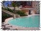 Slide swimmimg pool