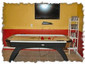 "Gameroom - Air-hockey and 42"" TV"