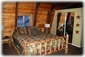 Master bedroom with King bed, ample closet space and ceiling fan