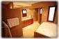 The master bedroom en-suite bathroom