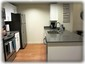 Stainless applicances in remodeled kitchen