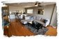 Open floor plan provides a 'great room' feel to the downstairs area