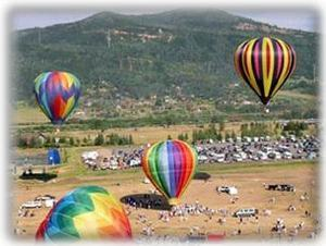 The Balloon Festival is a wonderful summer event