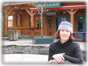 Owner Paula Fainstat By The Lodge