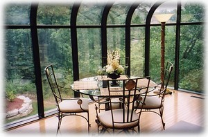 Our Atrium Dining Area offers Wonderful Views