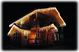 Celebrate the Holidays... with our own light show!