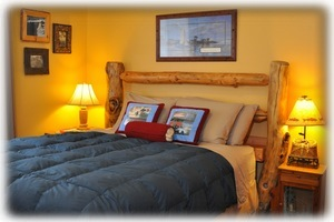 "The ""Fishin' Hole"" Queen Size Guest Room"
