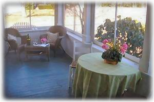 Breezy & Shaded Screened Porch