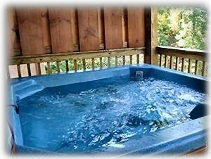 Relax In Private Hot Tub Located On Deck