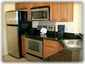 Stainless steel & granite kitchen; all applicances
