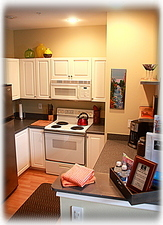 Large, fully equipped kitchen ready for your use!