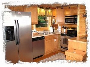 Large Open Kitchen w/Stainless Steel Appliances