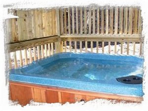 Hot Tub w/Seating for Four