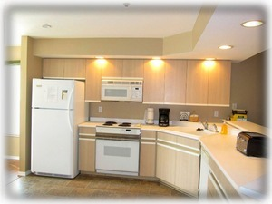 Fully furnished kitchen with a pantry for you