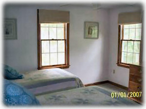 Harwichport house rental - Twin Bedded Room