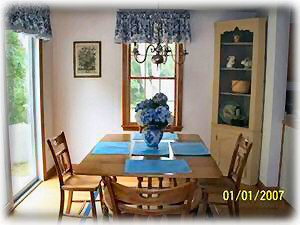 Harwichport house rental - Dining Area - next to kitchen