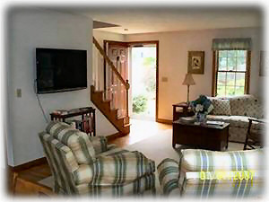 Harwichport house rental - Living Room