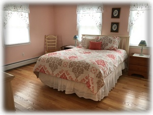 Master Bedroom - spacious and welcoming; on the top floor