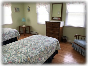 Twin Bedded Room - can be converted to a King
