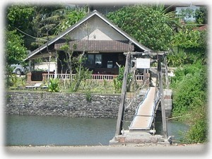 Warung on local beach-great food