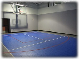 Sports court in same SE tower