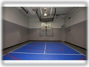 Indoor sports court at Harbor Steps