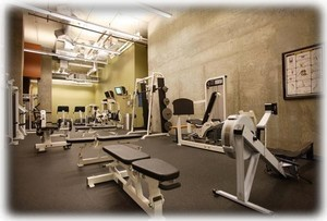 24 hour work out facilities at Harbor Steps