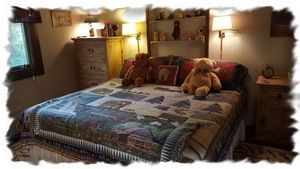 """Teddy Bear"" Guest Bedroom with King-Size Bed!"