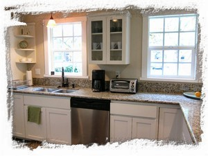 Lots of Light in Remodeled Kitchen with Everything You Need to Prepare Meals