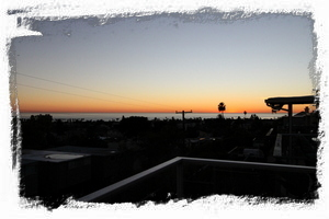 Enjoy San Diego's amazing sunsets from the balcony & back deck