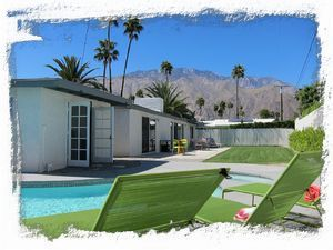 Palm Springs Palm Springs California Vacation Rental Home Classic Mid Century Modern Pool