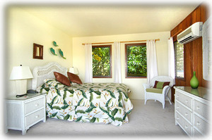 Bungalow suite, great views with French door