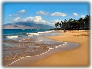 Enjoy the clear, warm waters of Kamaole Beach II