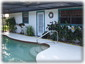 Pool Deck with Door leading to Master Bathroom/Bedroom