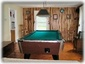 This Jay Peak vacation rental has a pool table.