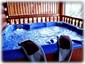 Private Hotub Located on deck,BBQ Grill.Tables & Chairs,Rocking Chairs